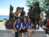 Team Apo at Sandugaan Statue in Bohol