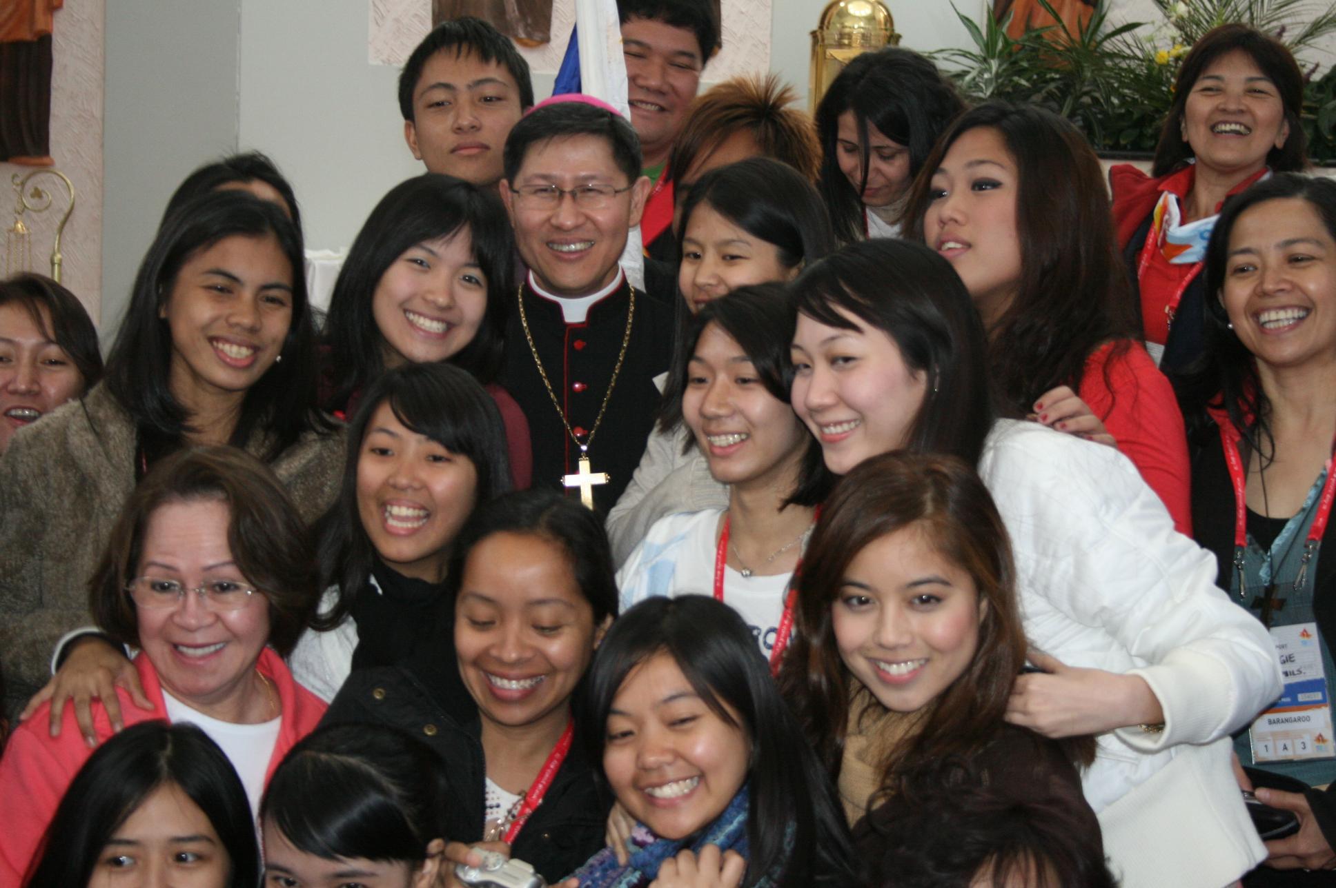 """Cardinal Luis Antonio """"Chito"""" Gokim Tagle"""